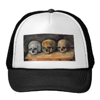 Trío del cráneo de Cézanne Gorro De Camionero