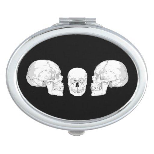 Trío del cráneo espejo compacto