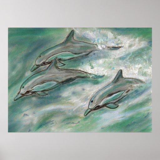 Trío del delfín poster