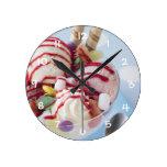 Trío del helado y del helado dulce relojes