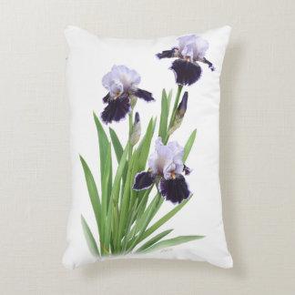 Trío del iris cojín