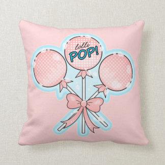 Trío del Lollipop Cojín Decorativo