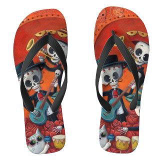 Trío del Mariachi de Dia de Los Muertos Skeleton