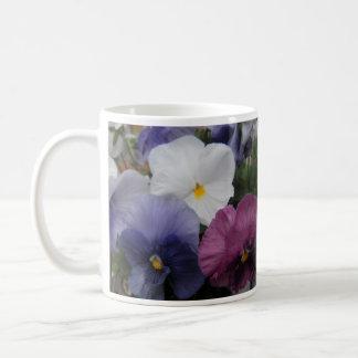Trío del pensamiento - el día de madre feliz taza de café