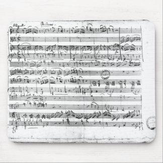 Trio, in E flat major 'Kegelstatt' Mouse Pad