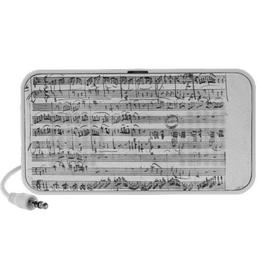 Trio, in E flat major 'Kegelstatt' Portable Speaker