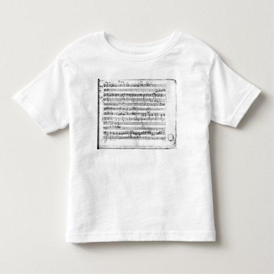 Trio, in E flat major 'Kegelstatt' Toddler T-shirt