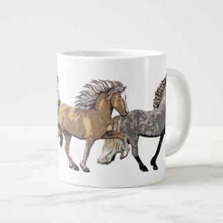 Trio in Tolt 20 Oz Large Ceramic Coffee Mug
