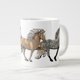Trio in Tolt Giant Coffee Mug