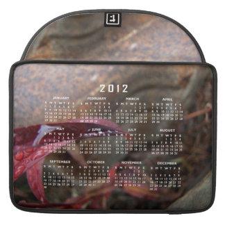 Trio of Diamond Drops 2012 Calendar Sleeves For MacBooks