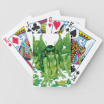 Trio of Earth Fairies or Elves by Al Rio Bicycle Playing Cards
