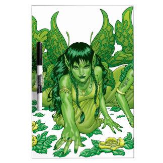 Trio of Earth Fairies or Elves by Al Rio Dry Erase Board