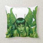 Trio of Earth Fairies or Elves by Al Rio Pillow