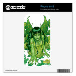 Trio of Earth Fairies or Elves by Al Rio Skin For iPhone 4