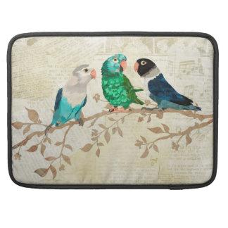 TRIO OF FEATHERS SLEEVE FOR MacBook PRO