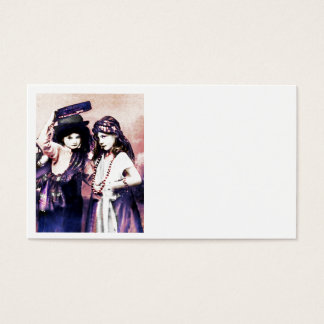 Trio of Gypsy Children Business Card