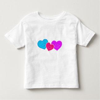 TRIO OF HEARTS T-SHIRT