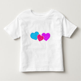 TRIO OF HEARTS TODDLER T-SHIRT