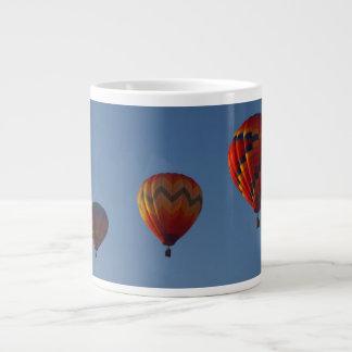 Trio of Hot Air Ballons Large Coffee Mug