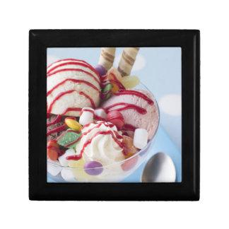 Trio of Ice Cream and Sweet Sundae Keepsake Box