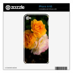 Trio of Roses for you iPhone 4S Skin