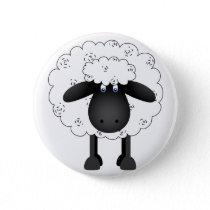 Trio Of Sheep Button