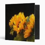Trio of Sunflowers Binder