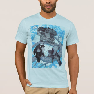Trio of Winged Cats T-Shirt