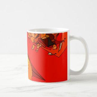 Trío picante del paprika taza de café