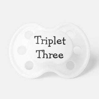 Trío tres chupete