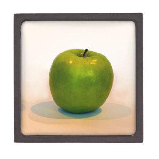 Trío verde de Apple Caja De Recuerdo De Calidad