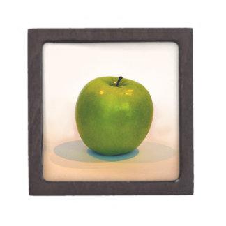 Trío verde de Apple Cajas De Recuerdo De Calidad