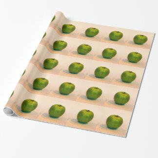Trío verde de Apple Papel De Regalo