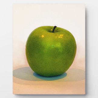 Trío verde de Apple Placas