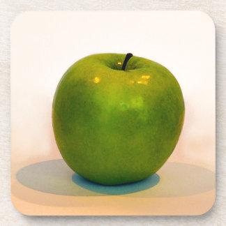Trío verde de Apple Posavasos