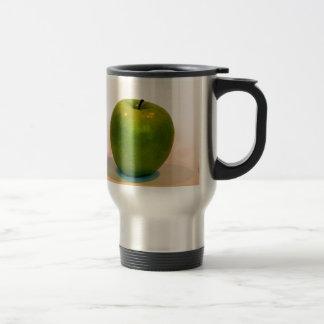 Trío verde de Apple Taza De Viaje