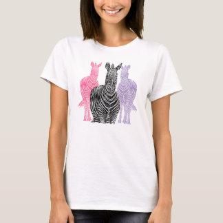 Trio Zebra Print T-Shirt