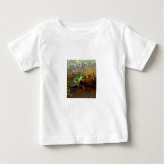Triopse Fantasy Frog in a Cave Baby T-Shirt