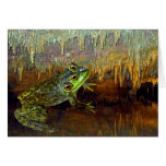 Triopse Fantasy Frog in a Cave Greeting Card