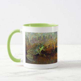 Triopse Fantasy Three-Eyed Frog in a Cave Pool Mug