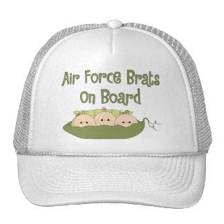 Tríos de los palos de golf de la fuerza aérea a bo gorras de camionero