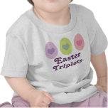 Tríos lindos de Pascua Camisetas