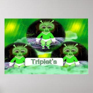 tríos, por AVM Poster