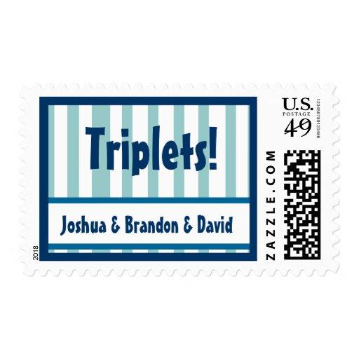 TRÍOS - sello conocido de encargo de la invitación