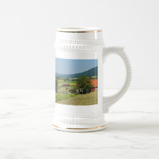Trip by the upper Lahn valley with nuclear brook Beer Stein