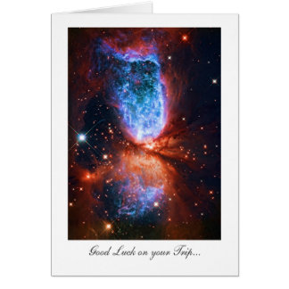 Trip Good Luck - Stars in Cygnus, The Swan Greeting Card