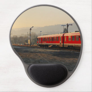 Trip into the morning, exit from peace village gel mouse pad