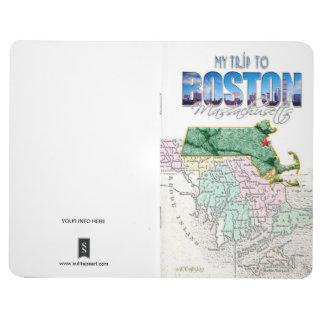 Trip to Boston Massachusetts Pocket Journal