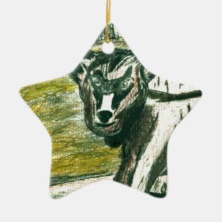 Trip to the Zoo - Baby Goat Ceramic Ornament