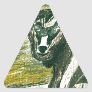 Trip to the Zoo - Baby Goat Triangle Sticker